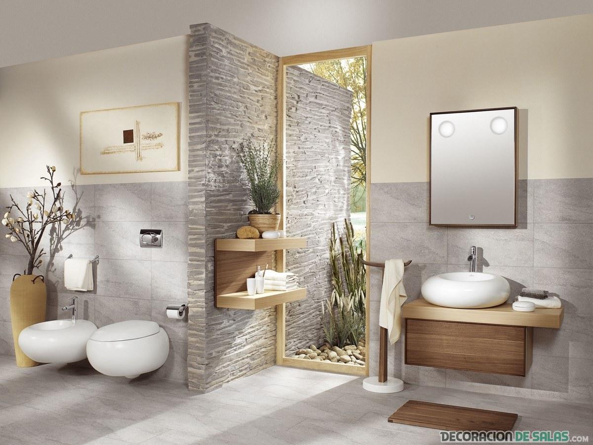 baños lujosos y amplios
