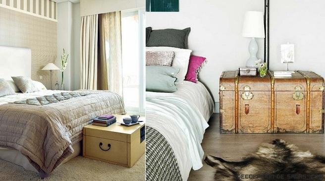 baules pequeños para habitaciones