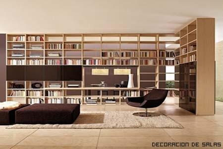 biblioteca tonos claros