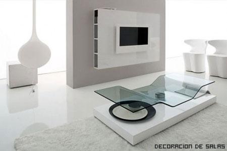 blanco y moderno