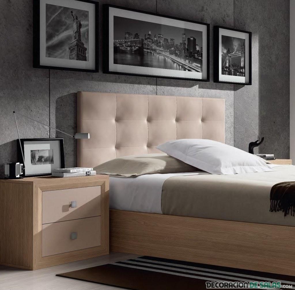 cabecero de dormitorio