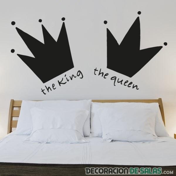 cabecero vinilo pegatinas cama