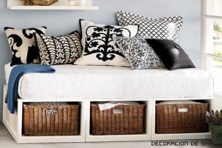 cajas cama