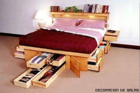 cajones cama