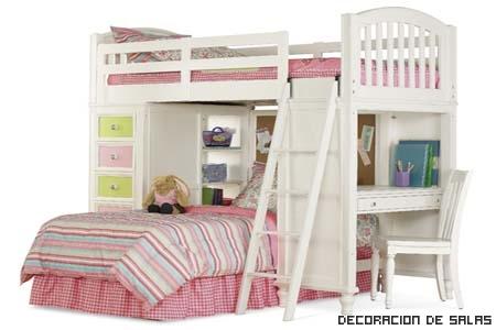 cama alta infantil