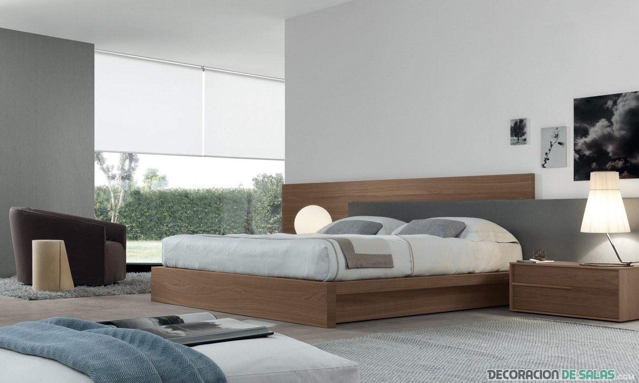 cama canapé en madera