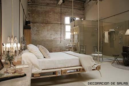 cama colgante moderna