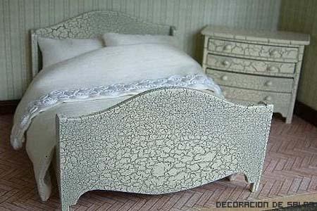 cama cuarteada
