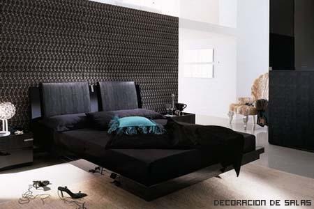 cama negra