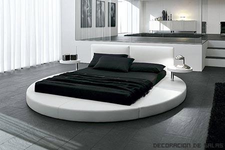 cama redonda matrimonio