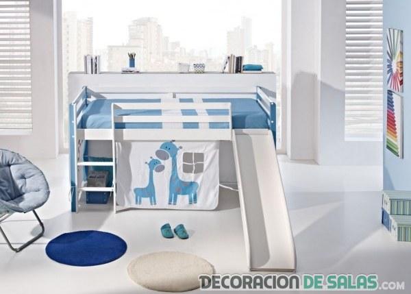 cama tobogán para niños