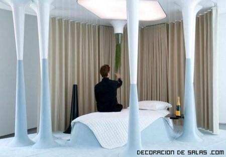 camas de colores pastel