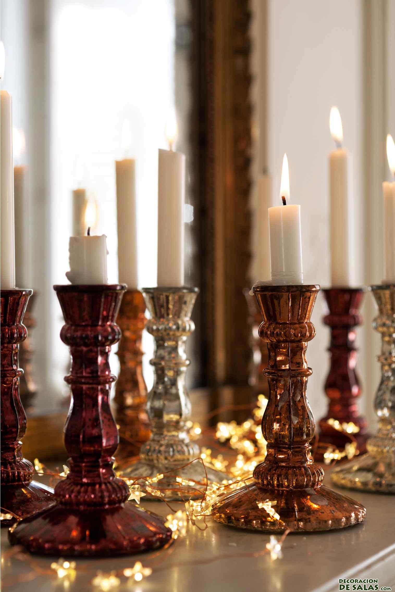 candelabros H&M