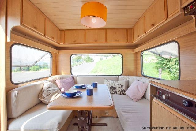 interiores sencillos para caravanas
