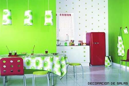cocina colorida