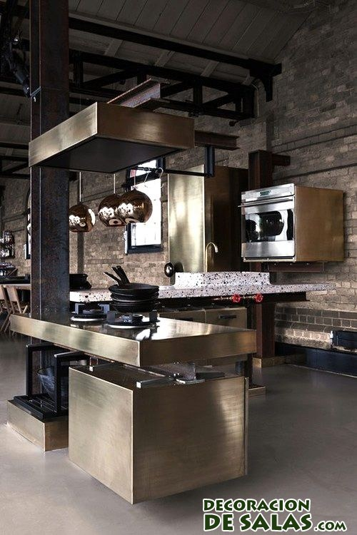 cocina industrial moderna