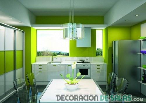 Los Mejores Colores Para Pintar Tu Cocina Decoración De Salas