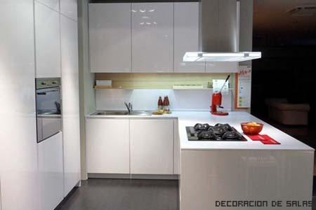 cocina pequeña moderna