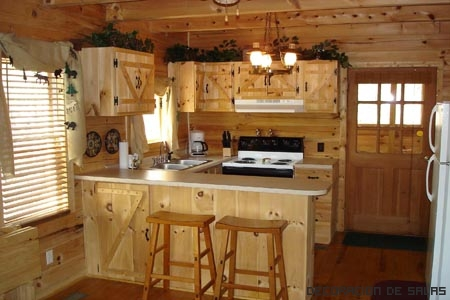 cocina rustica madera