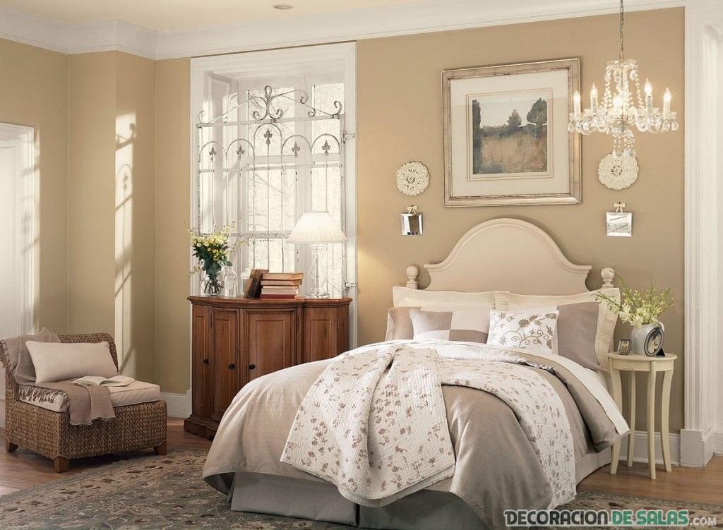 combinación dormitorio clásico
