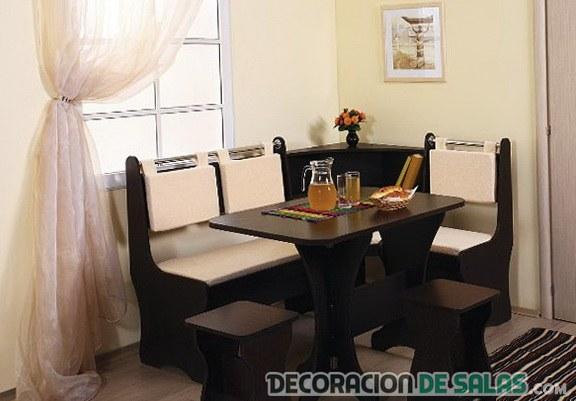Cómo decorar un comedor pequeño | Decoración de Salas