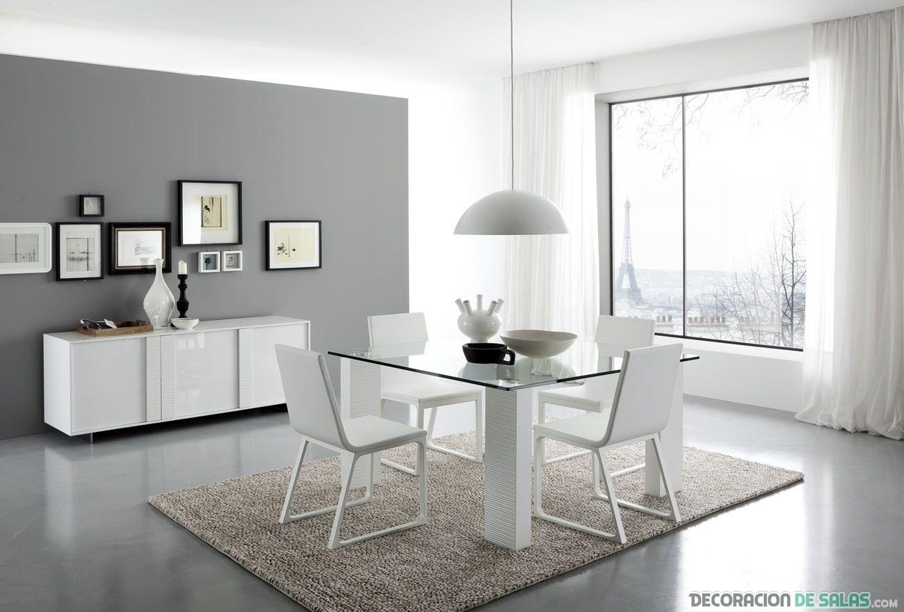 comedor moderno minimalista