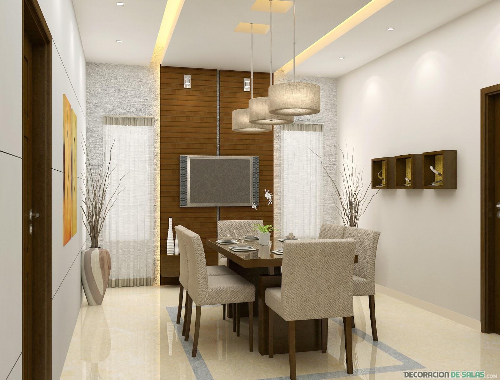 comedor pequeño moderno y elegante