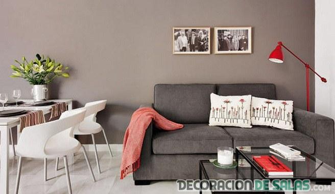 cómo decorar salón pequeño