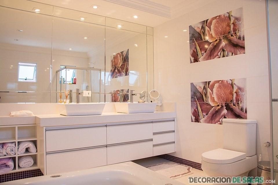 como limpiar mamparas de baño