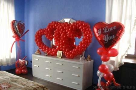 corazon globos