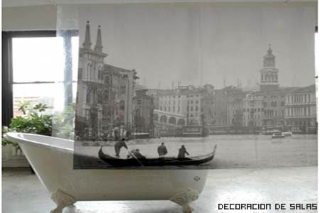 cortina baño original