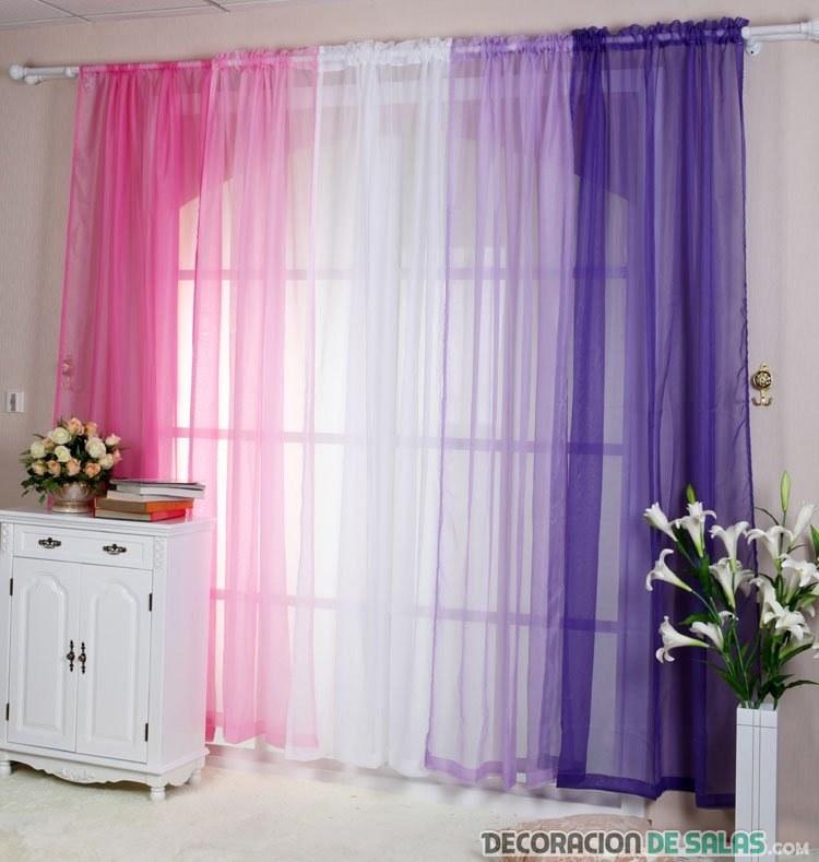 cortinas degradadas juveniles