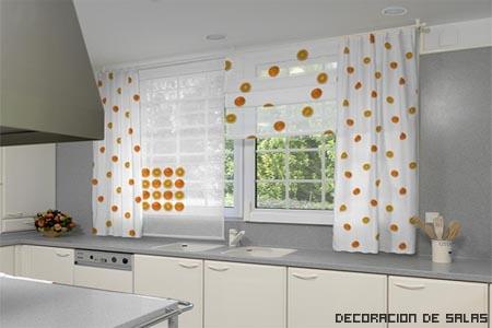 cortinas naranjas