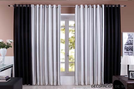 cortinas tonos neutros
