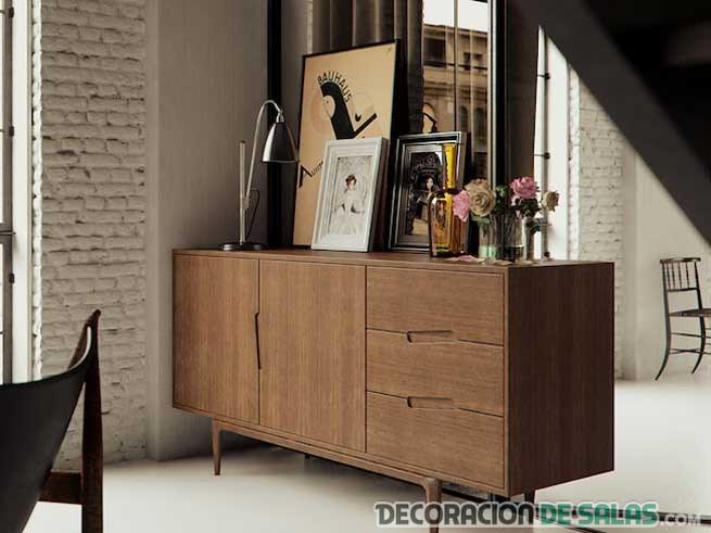 cuadros sobre muebles
