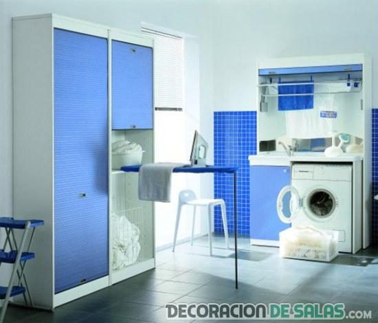 Decora tu cuarto de lavado o planchado decoraci n de salas for Imagenes de lavaderos de ropa