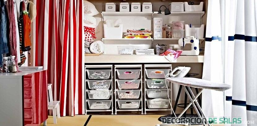 cuarto lavandería sótano de casa