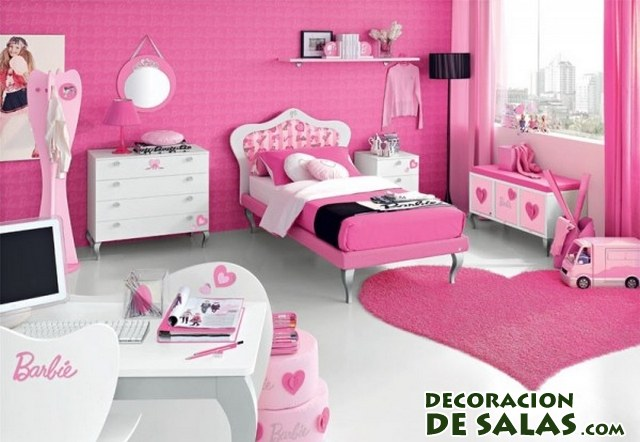 decoracion barbie dormitorio