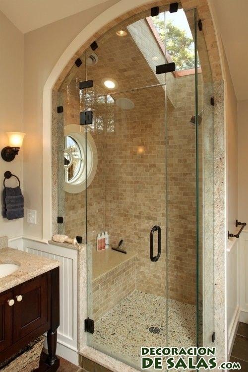 decoración de baños con piedras