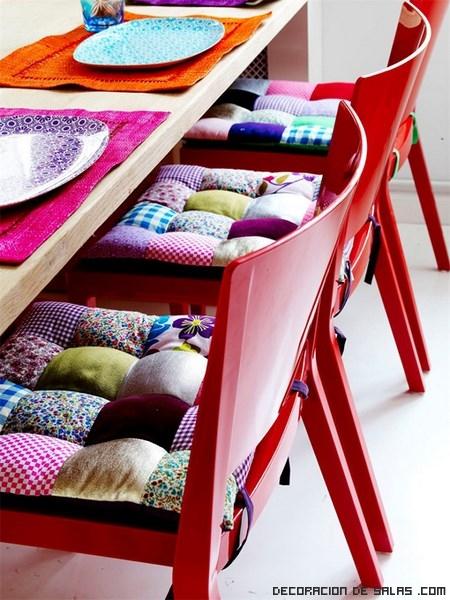 Ideas de decoración muy coloridas