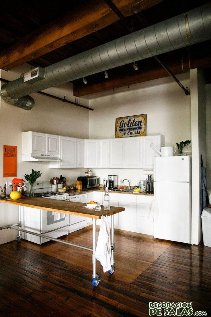 decoración de cocinas hipster