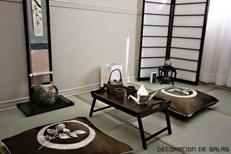 decoración japonesa minimalista