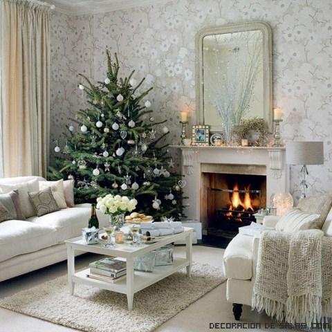 ideas de decoración de árboles navideños