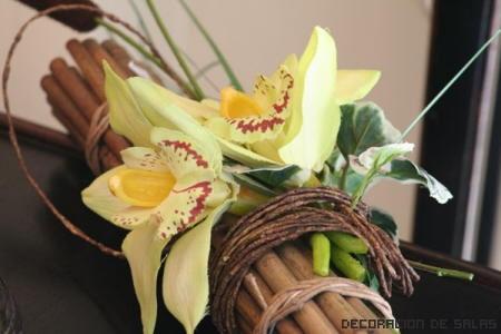 decoración orquídeas