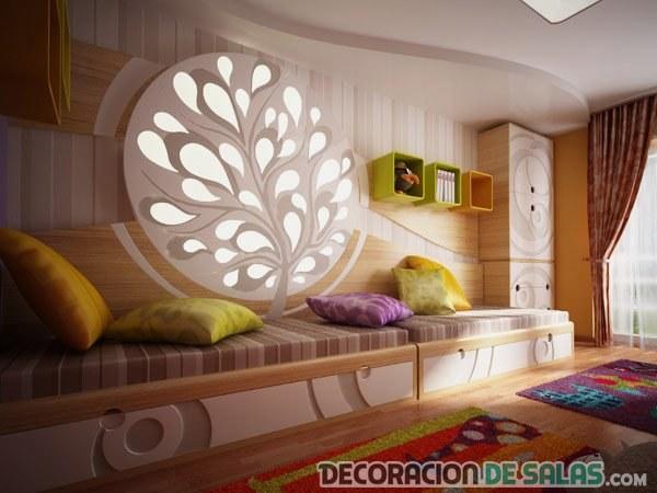 decoración para dormitorios infantiles