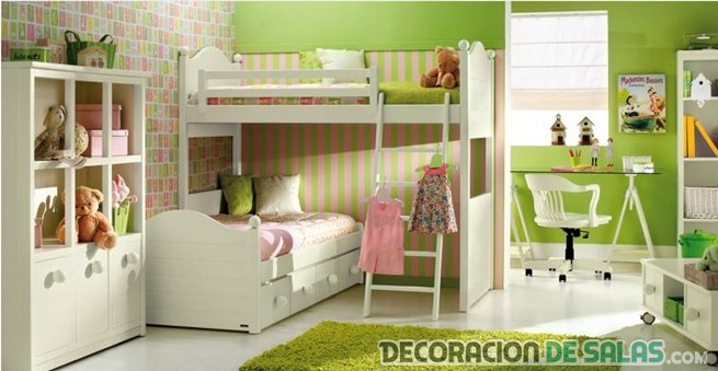 decorar tonos verdes
