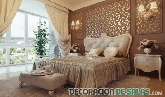 dormitorio clásico de lujo