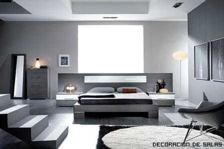 dormitorio colores frios