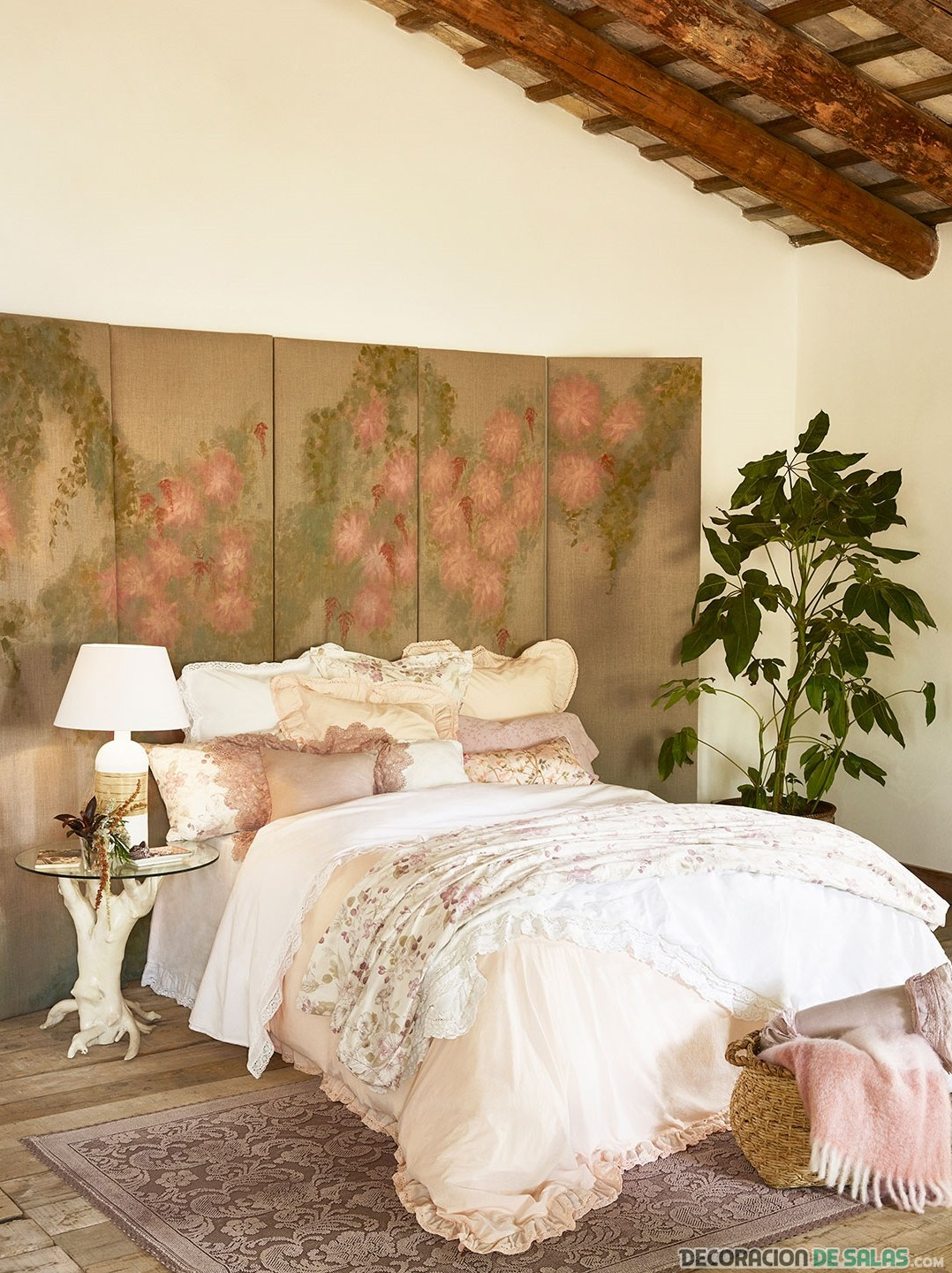 dormitorio decorado con hm