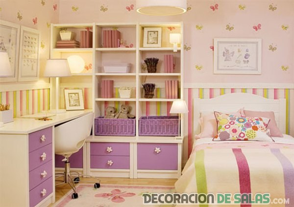 dormitorio decorado infantil
